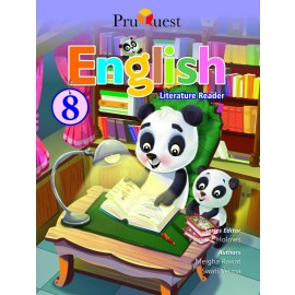 PRUQUEST ENGLISH LITERATURE READER-CLASS-8