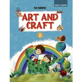 HF SUNRISE ART & CRAFT ACTIVITY BOOK PART- B