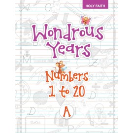HF WONDROUS YEARS WRITING PRACTICE - NUMBERS 1 TO 20 (NUR-A)