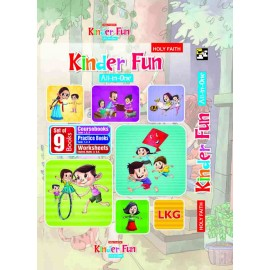 HFI KINDER FUN ALL-IN-ONE SERIES, LKG KIT BOX (SET OF 9 BOOKS)