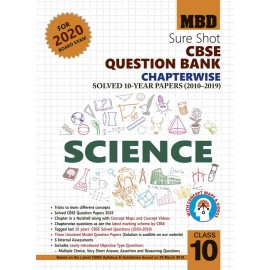 MBD SURE SHOT QUESTION BANK SCIENCE CLASS-10 (E) CBSE