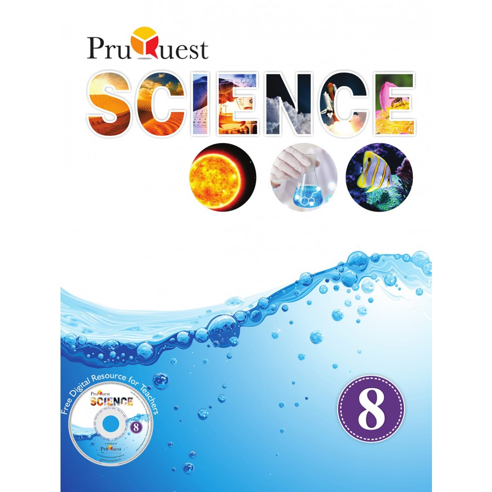 PRUQUEST SCIENCE CLASS 8 CBSE (E)