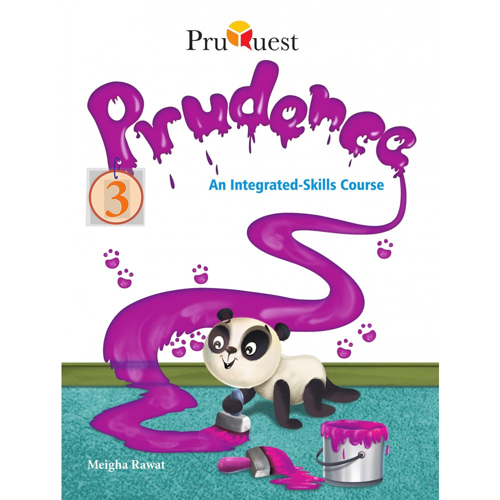 PRUQUEST PRUDENCE AN INTEGRATED-SKILLS COURSEBOOK 3 ENGLISH ICSE
