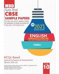 MBD SURE SHOT SAMPLE PAPER ENGLISH LANG. AND LIT. CLASS 10 TERM-1 (NOV-DEC 2021)