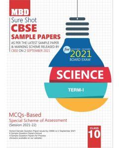 MBD SURE SHOT SAMPLE PAPER SCIENCE CLASS 10 (E) TERM-1 (NOV-DEC 2021)