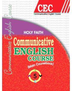 HOLY FAITH COMMUNICATIVE ENGLISH COURSE-V