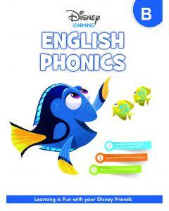 HF DISNEY ENGLISH PHONICS-LKG