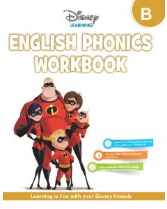 HF DISNEY ENGLISH PHONICS WORKBOOK-LKG