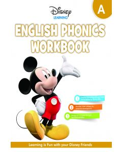 HF DISNEY ENGLISH PHONICS WORKBOOK-NUR