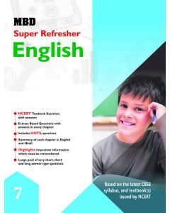 MBD ENGLISH -SUPER REFRESHER 7TH (CBSE)