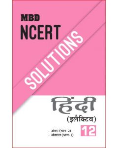MBD NCERT SOLUTIONS HINDI ELECTIVE-12