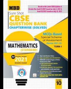 MBD SURE SHOT QUESTION BANK MATHEMATICS CLASS 10 (E) TERM-1 (NOV-DEC 2021)