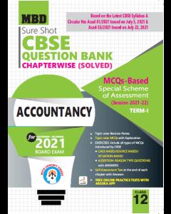 MBD SURE SHOT QUESTION BANK ACCOUNTANCY CLASS 12 (E) TERM-1 (NOV-DEC 2021)