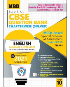 MBD SURE SHOT QUESTION BANK ENGLISH LANG. AND LIT. CLASS 10 TERM-1 (NOV-DEC 2021)